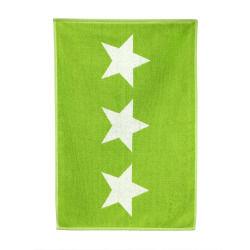 Tapis de bain 50x70 cm 100% coton 700 g/m2 stars vert