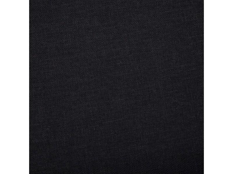 Icaverne - bancs coffres gamme banc avec compartiment de rangement 116 cm noir polyester