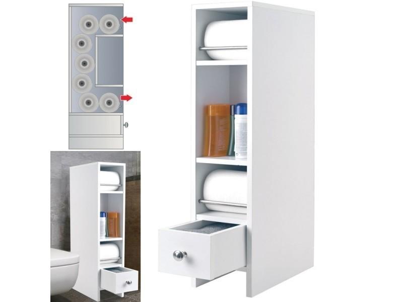 Meuble rangement wc distributeur rouleaux vente de id for Meuble rangement wc