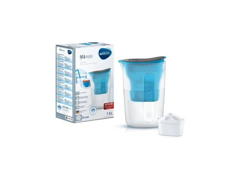 Brita carafe filtrante fun bleu + 1 cartouche de rechange BRI4006387076559