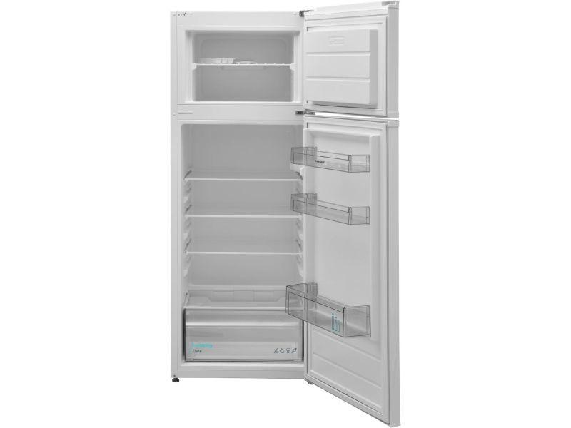 Réfrigérateur 2 portes 216l froid statique sharp 54cm a+, sjtb01itxwf
