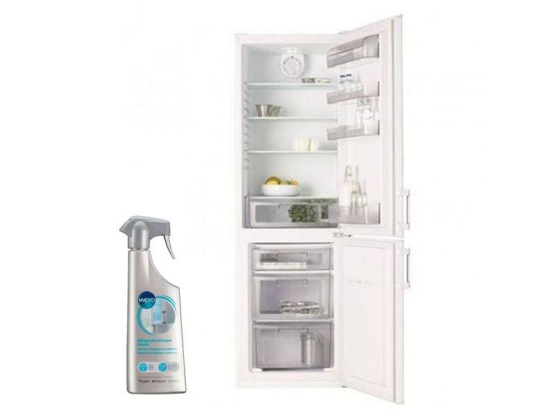 Réfrigérateur frigo combiné blanc 315l froid ventilé no frost