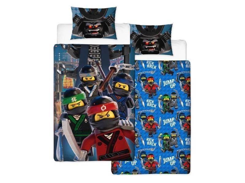 Lego Ninjago Housse De Couette 1 Personne 135x200 Cm 1 Taie