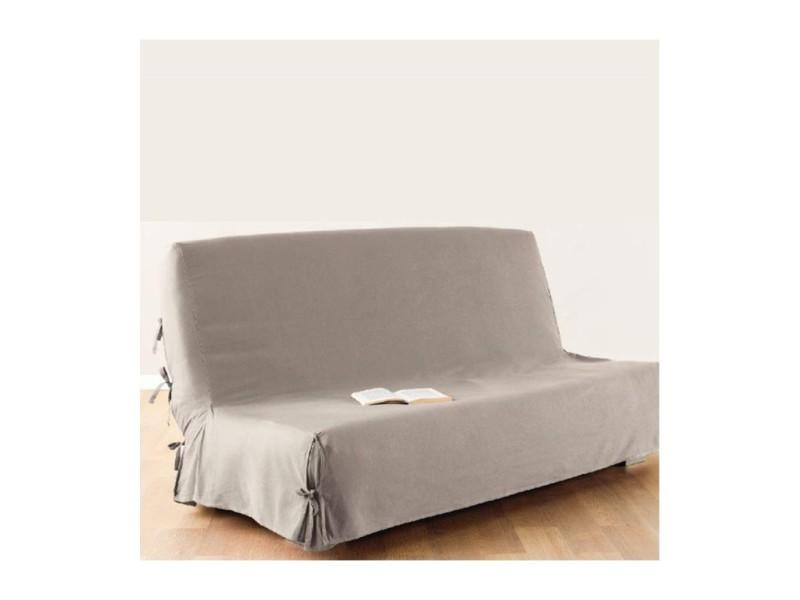 housse de clic clac 140x200 cm lin 100 coton vente de atmosphera conforama. Black Bedroom Furniture Sets. Home Design Ideas