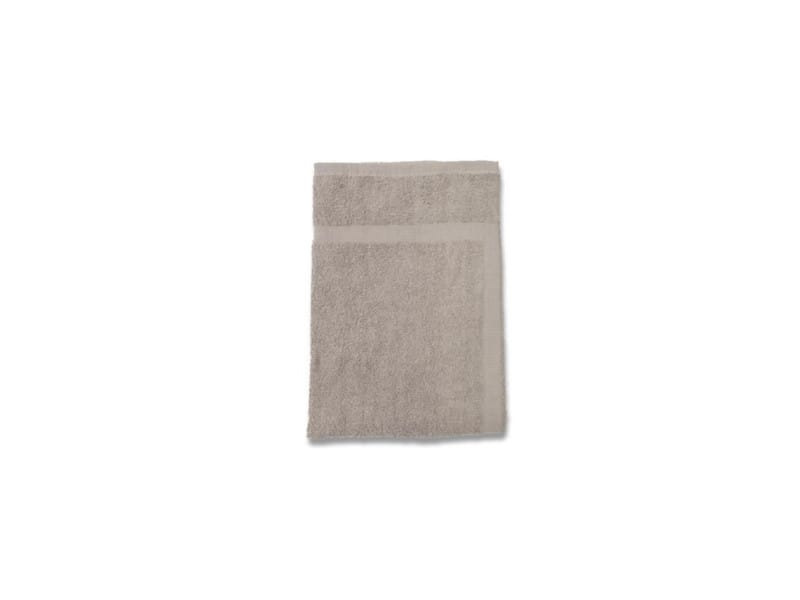 Soleil d'ocre tapis de bain douceur 100% coton 50x80 cm taupe