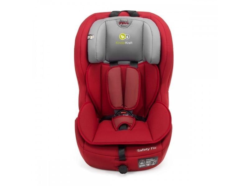 si ge auto safety isofix groupe 1 2 3 volutif 9 36 kg rouge vente de kinderkraft conforama. Black Bedroom Furniture Sets. Home Design Ideas