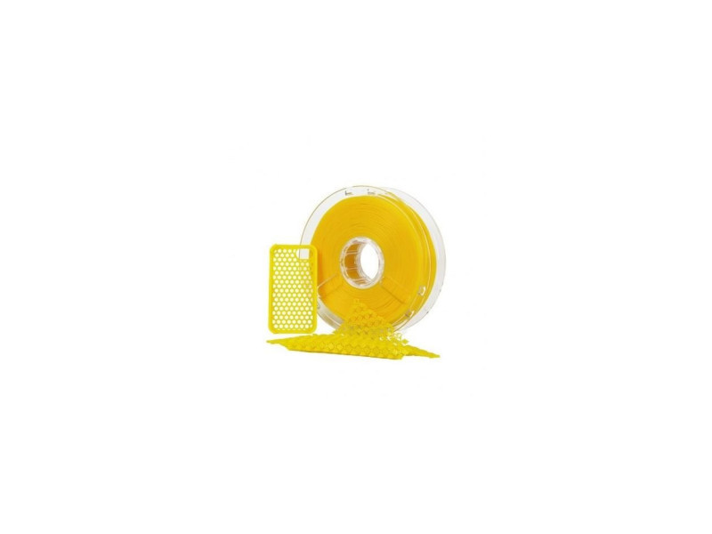 Polymaker polyflex cartouche de filament pla - 1,75 mm - jaune - 750