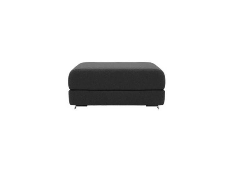 Pouf convertible lounge en tissu gris anthracite softline 20100874806
