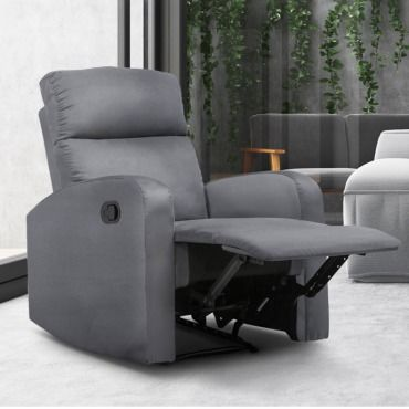 Fauteuil relaxation inclinable gris anthracite Vente de ID