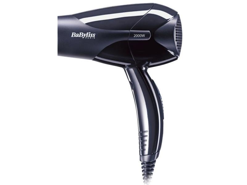 Seche cheveux 2000w 2vit air frais noir babyliss - d212e 7640