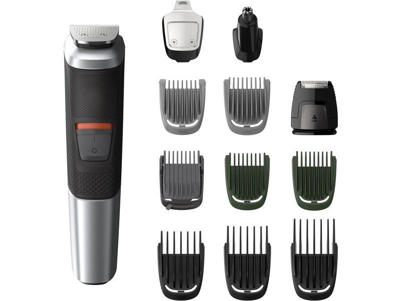 Tondeuse à cheveux et multi-styles 12 en 1 gris noir