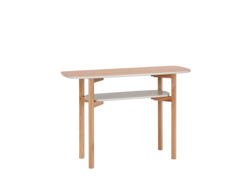 Cee - console design en bois - couleur - chêne 156217029014