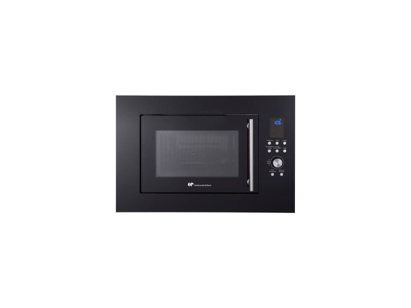 Continental edison cemo25geb - micro-ondes gril noir - 25l - 900 w - grill 1000 w - encastrable CEMO25GEB