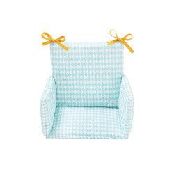 Coussin de chaise haute losanges