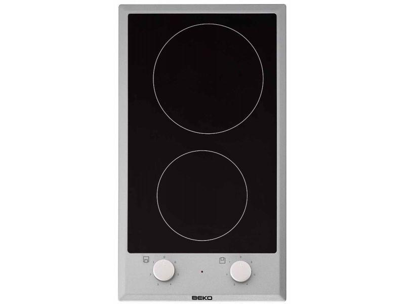 Table de cuisson encastrable plaques vitrocéramique 2 foyers