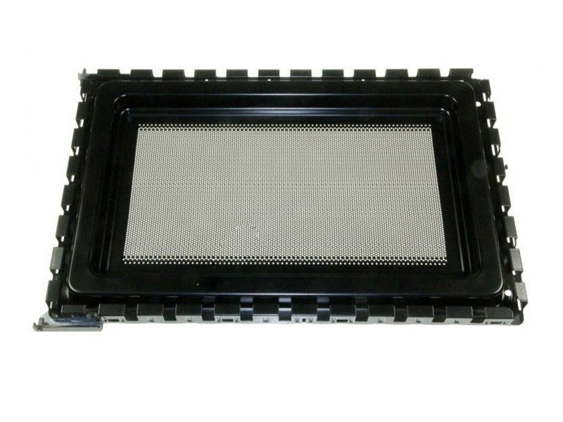 Ensemble porte exterieur noir pour micro ondes samsung - de94-02262c