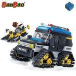 Banbao camion de police à chenilles pour la neige 7007