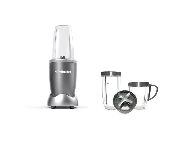 Nutribullet pack blender nutribullet + un kit d'accessoires - 600w - 4 pieces - gris SOD3291480781191