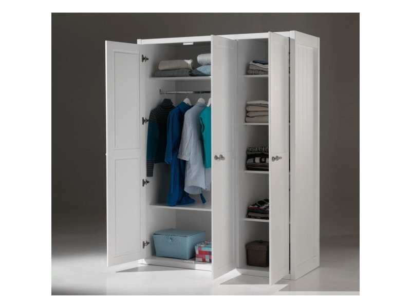 vipack armoire lewis 3 portes lekl1314 vente de vipack conforama. Black Bedroom Furniture Sets. Home Design Ideas