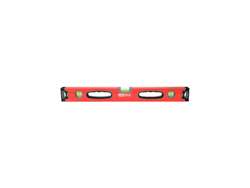 Niveau rectangulaire ks tools - double semelle - 800 mm - 204.7080 204.7080