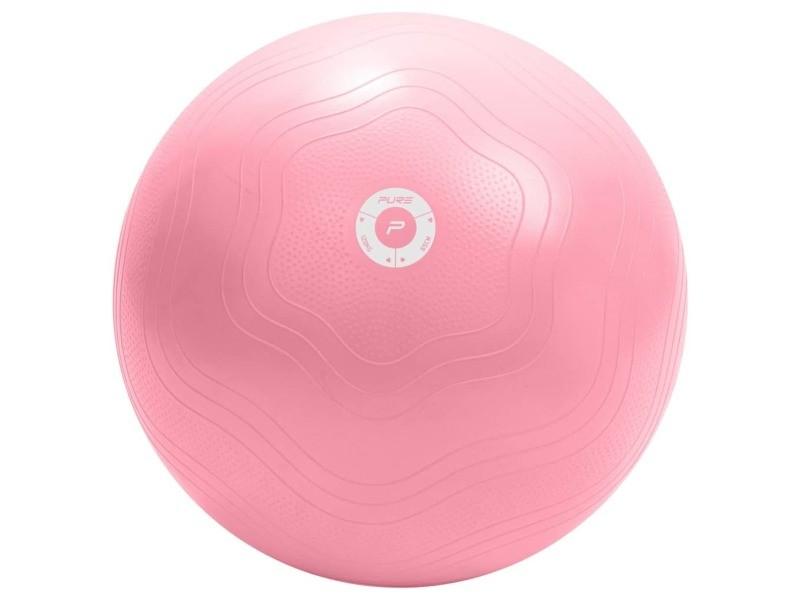 Pure2improve ballon d'exercice 65 cm rose 65 cm