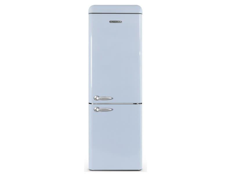 Réfrigérateur combiné schneider, scb300vbl