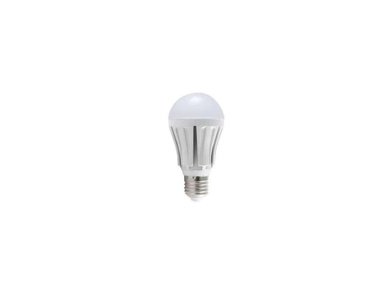 Lot de 5 ampoules led e27 12w éclairage 100w - blanc chaud 2700k 5XA60-E27-12W-WW