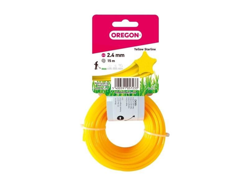 Fil etoile jaune 2.4mm 15m 545058