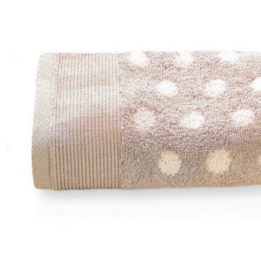 Drap de bain 100x150 cm domino beige 550 g/m2
