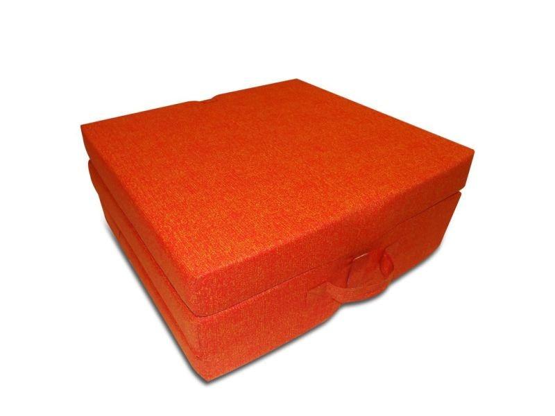 Vidaxl matelas en mousse pliable en 3 sections 190 x 70 x 9 cm orange 241605 vente de vidaxl - Matelas en mousse pliable ...