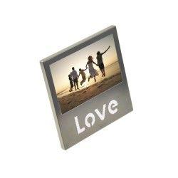 Cadre photo - carré - lettres love