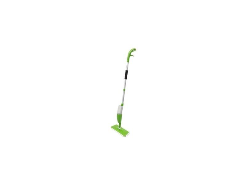 Balai à spray avec serpillière microfibre - nettoyage des sols