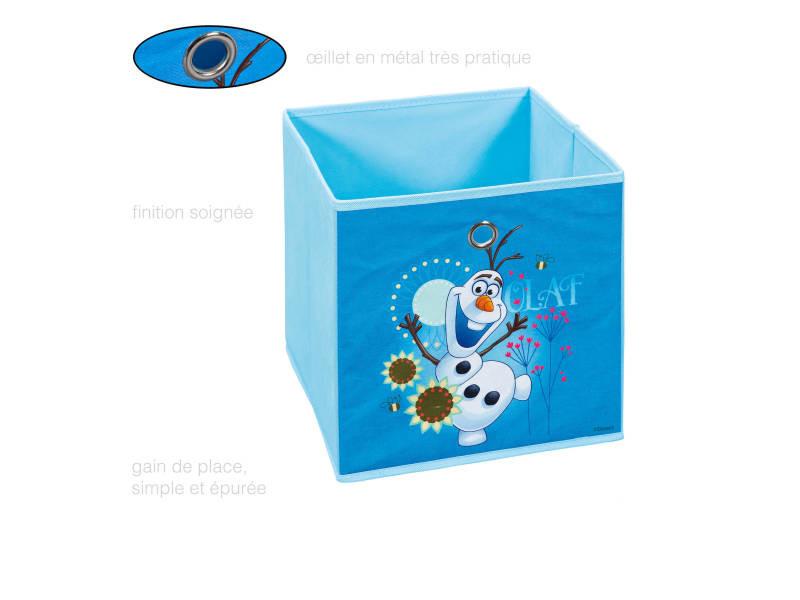 Boîte de rangement carrée - cube avec œillet pour étagère - reine ...