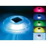 Lampe solaire flottante - Lumières LED multicolores alternées