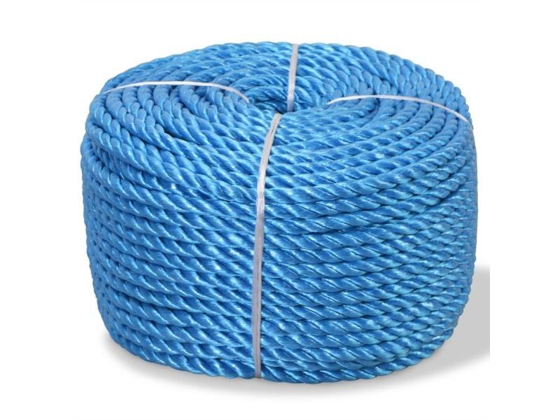Splendide chaînes, câbles et cordes edition nairobi corde torsadée polypropylène 14 mm 250 m bleu