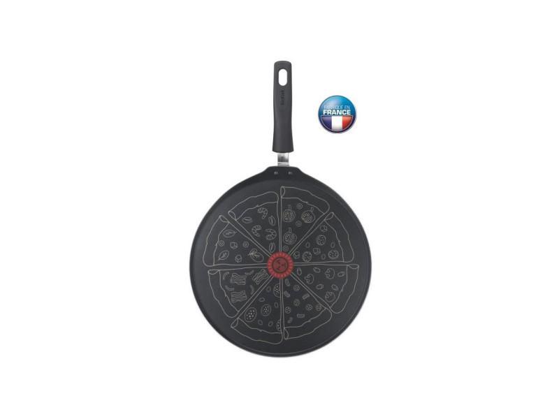 Tefal - poele a pizza - 32 cm - tous feux sauf induction - noir - fabriquée en france TEFB2941502
