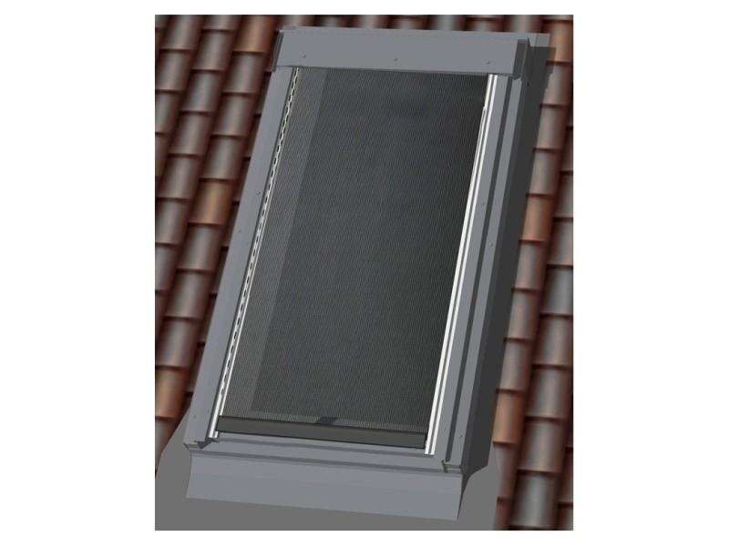 117 x 74/116cm - u04/u08(l x h) - store de toit extérieur screen noir - noir MAD3570601989143