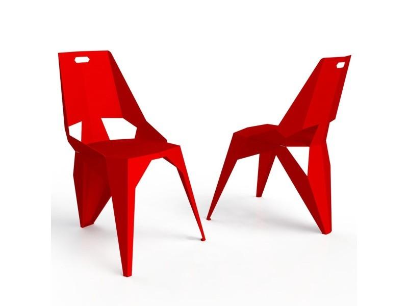 Chaise 3 pieds plexus vente de zhed conforama for Chaise 3 pieds