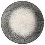 Assiette à dessert atelier - céramique - gris