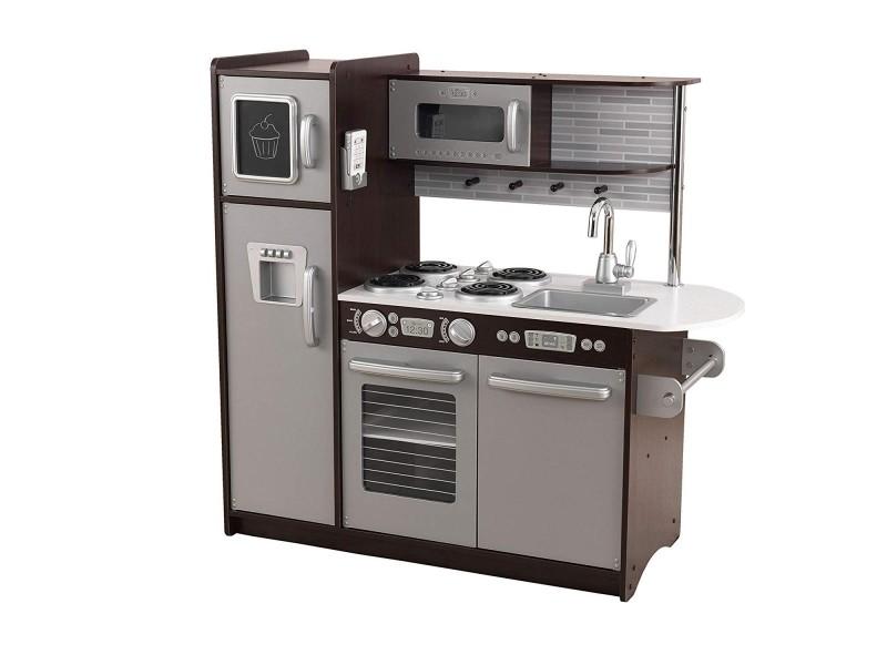 cuisine uptown expresso 53260 vente de kidkraft conforama. Black Bedroom Furniture Sets. Home Design Ideas
