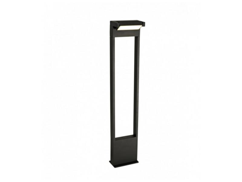 Borne baron 1 ampoule noir graphite 31 cm