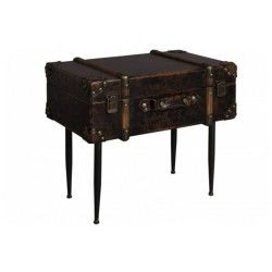 Dutchbone table d'appoint type malle luggage