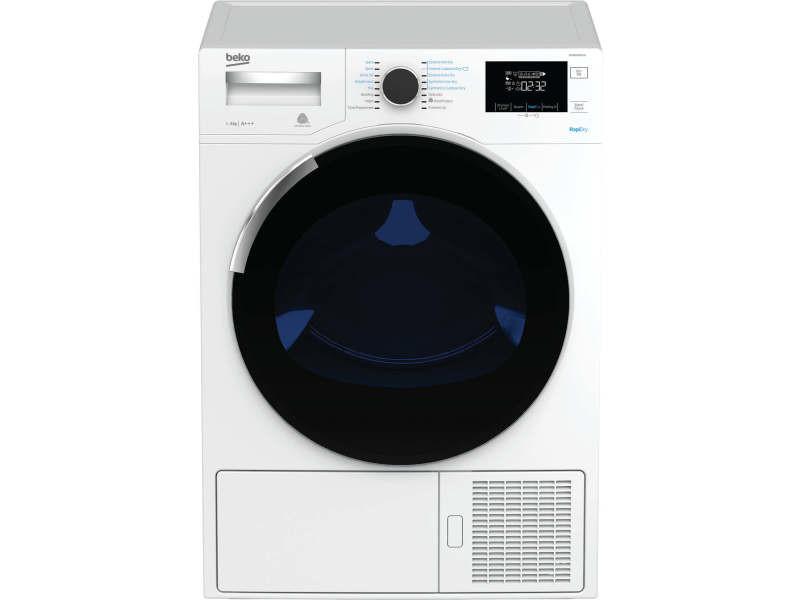 Sèche-linge pompe à chaleur 10kg beko 60cm, dh 10444 px 1 w