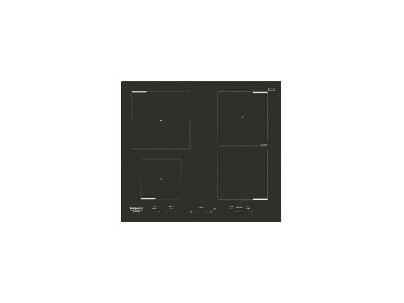 Hotpoint hkid 641 b c noir intégré (placement) plaque avec zone à induction 4 zone(s)