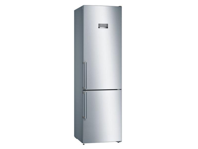 Réfrigérateur combiné 60cm 366l a++ nofrost inox - kgn397leq kgn397leq