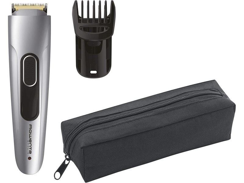 Tondeuse à barbe de précision sans fil gris noir