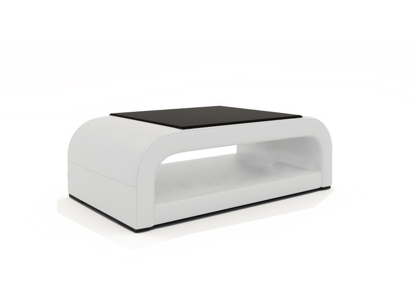 Table basse design blanche nelly-