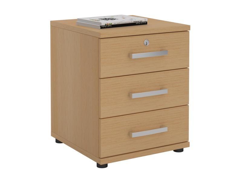 Generic noyer whitee desk es de rangement tiroir de bureau meuble