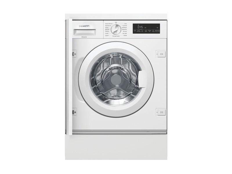 Lave-linge intégrable 60cm 8kg 1400t a+++ blanc - wi14w548ff wi14w548ff