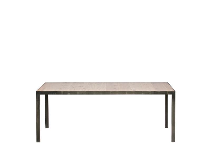 Station - table à manger en chêne 198x90cm - couleur - chêne 375255
